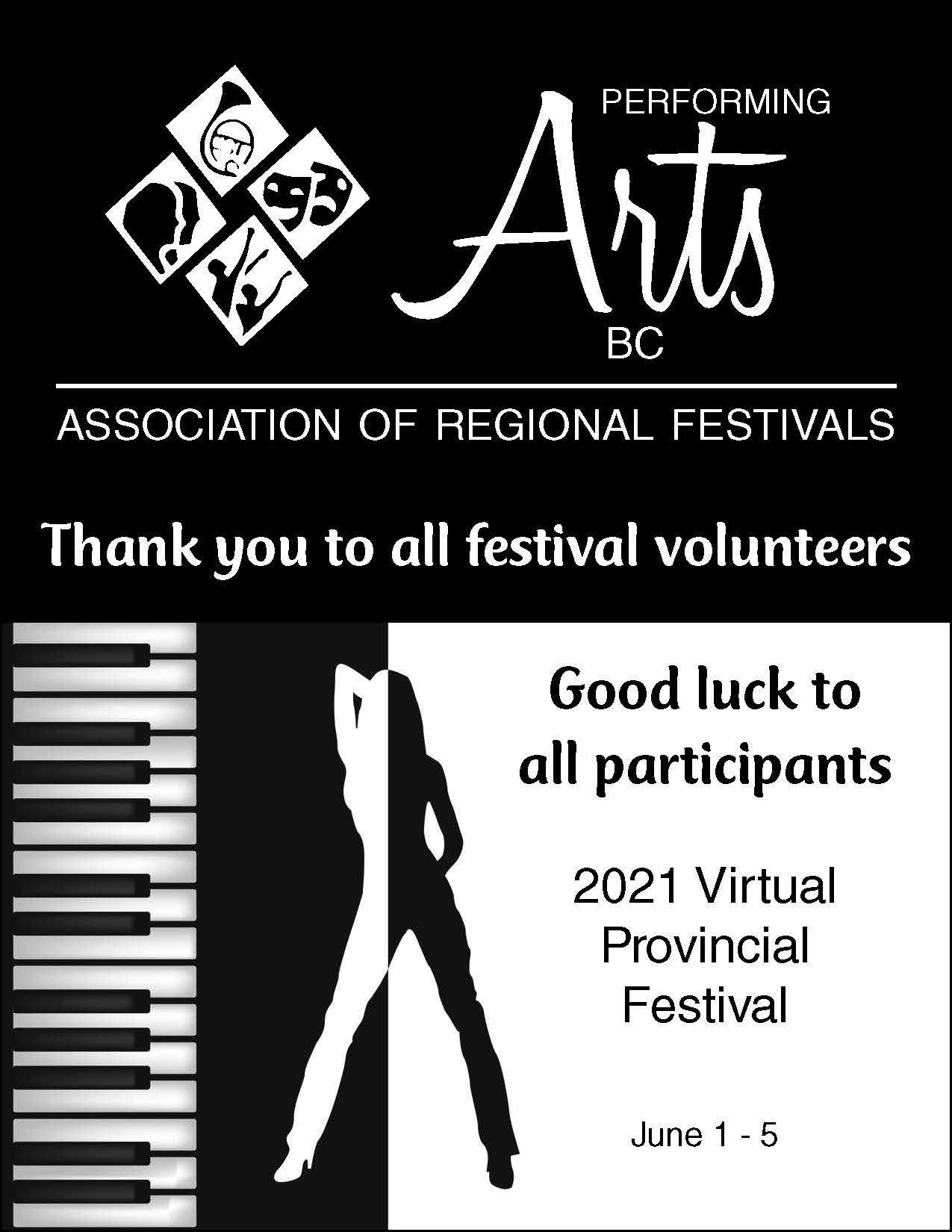 Ad 2021 - QtrPg Vert Performing Arts-BW